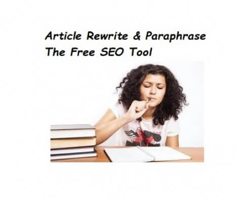 Article Rewriter | Paraphrasing Tool | The Free SEO Tool to optimize onpage seo!