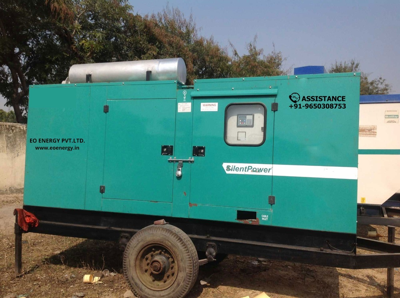 Used 62.5 kva Generator Feature & Advantages