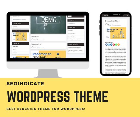 wordpres-theme for blogger